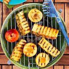 grilla frukt
